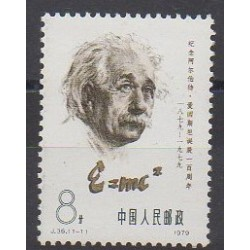 China - 1979 - Nb 2216 - Celebrities - Science