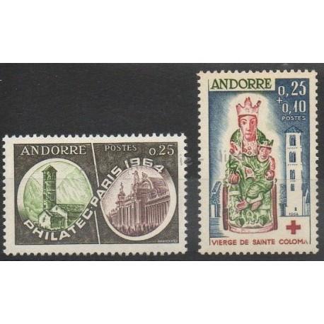 Andorre - Année complète - 1964 - No 171/172