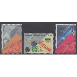 Pays-Bas - 1991 - No 1376/1378 - Sciences et Techniques
