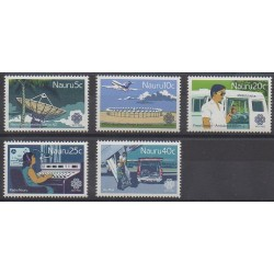 Nauru - 1983 - Nb 266/270 - Science