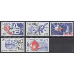 Suède - 1984 - No 1293/1297 - Sciences et Techniques
