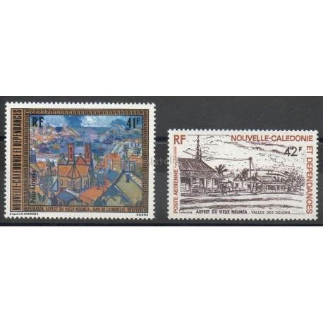 Nouvelle-Calédonie - Poste aérienne - 1977- No PA182/PA 183 - Peinture