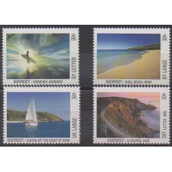 Guernesey - 2012 - No 1384/1387 - Tourisme