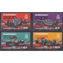 Guernesey - 2011 - No 1373/1376 - Voitures