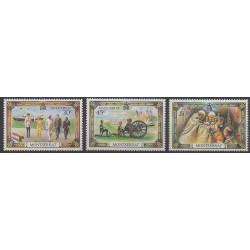 Montserrat - 1977 - Nb 364/366 - Royalty
