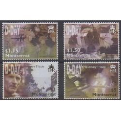 Montserrat - 2004 - No 1135/1138 - Seconde Guerre Mondiale
