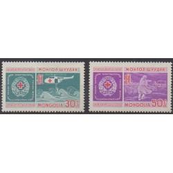 Mongolie - 1969 - No 485/486 - Santé ou Croix-Rouge