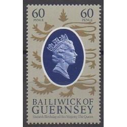 Guernesey - 1986 - No 362 - Royauté - Principauté