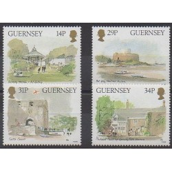 Guernesey - 1986 - No 371/374 - Sites