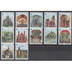 Guernesey - 1988 - No 438/439 - Églises