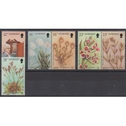 Guernesey - 1988 - No 432/437 - Fleurs