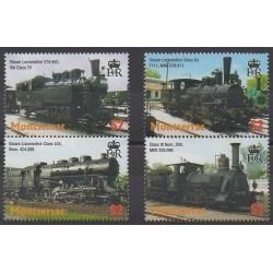 Montserrat - 2004 - No 1149A/1149D - Chemins de fer