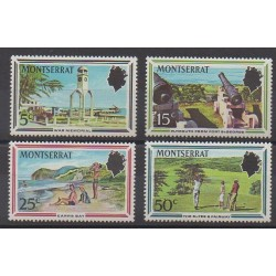 Montserrat - 1970 - No 248/251 - Tourisme