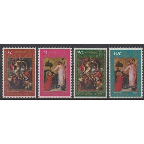 Montserrat - 1971 - No 256/259 - Pâques