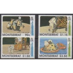 Montserrat - 1989 - No 719/722 - Espace