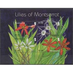 Montserrat - 2007 - No 1262/1265 - Fleurs