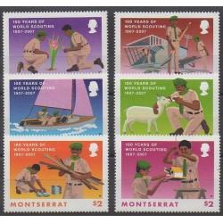 Montserrat - 2007 - Nb 1226/1231 - Scouts