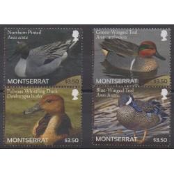 Montserrat - 2012 - Nb 1434/1437 - Birds