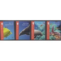 Montserrat - 2012 - Nb 1449/1452 - Animals