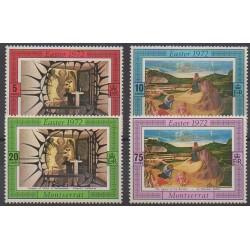 Montserrat - 1972 - No 274/277 - Pâques - Peinture