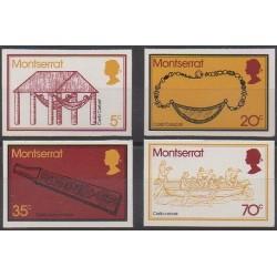 Montserrat - 1975 - No 323A/323D - Artisanat ou métiers