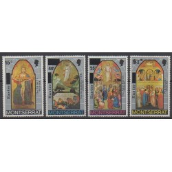 Montserrat - 1976 - No 334/337 - Pâques - Peinture