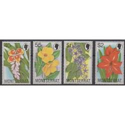 Montserrat - 1978 - Nb 390/393 - Flowers