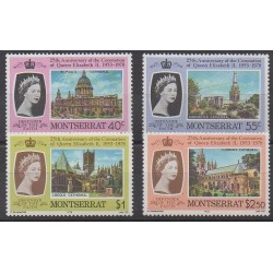 Montserrat - 1978 - No 386/389 - Royauté - Principauté