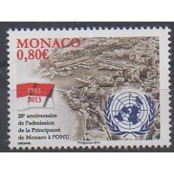 Monaco - 2013 - No 2879 - Nations unies