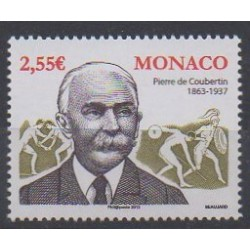 Monaco - 2013 - Nb 2859 - Summer Olympics - Winter Olympics