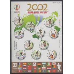South Korea - 2002 - Nb F2049 - Soccer World Cup