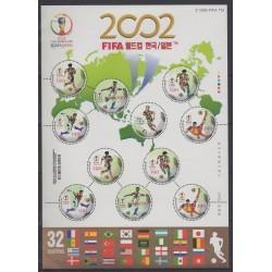 Corée du Sud - 2002 - No F2049 - Coupe du monde de football