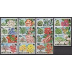 Montserrat - 1976 - No 341/355 - Fleurs