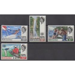 Montserrat - 1967 - No 189/192 - Tourisme