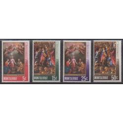 Montserrat - 1968 - No 208/211 - Noël