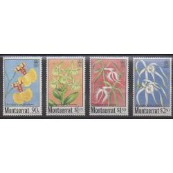 Montserrat - 1985 - Nb 565/568 - Orchids