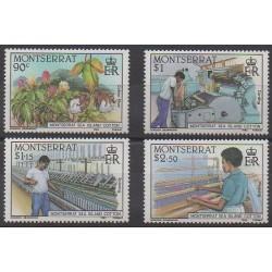 Montserrat - 1985 - No 577/580 - Artisanat ou métiers
