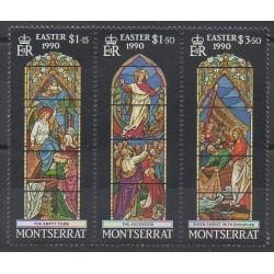 Montserrat - 1990 - Nb 727/729 - Easter