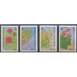 Montserrat - 1991 - Nb 764/767 - Flowers