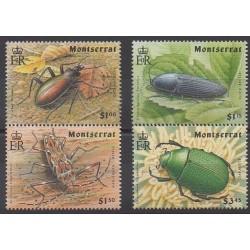 Montserrat - 1994 - No 818/821 - Insectes
