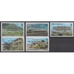 Montserrat - 2005 - Nb 1150/1154 - Royalty