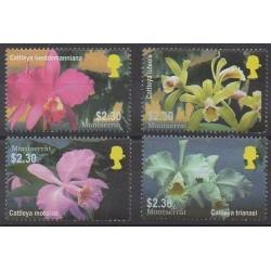 Montserrat - 2005 - Nb 1155/1158 - Orchids