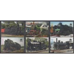 Montserrat - 2004 - No 1144/1149 - Chemins de fer