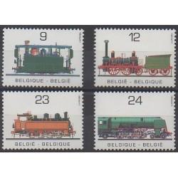 Belgium - 1985 - Nb 2170/2173 - Trains