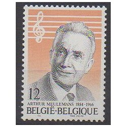 Belgique - 1984 - No 2154 - Musique