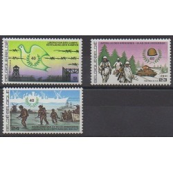 Belgique - 1985 - No 2188/2190 - Seconde Guerre Mondiale