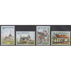 Belgique - 1985 - No 2179/2182 - Églises