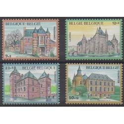 Belgium - 1985 - Nb 2193/2196 - Castles