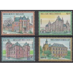 Belgique - 1985 - No 2193/2196 - Châteaux