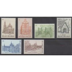 Belgium - 1986 - Nb 2217/2222 - Monuments